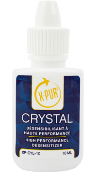 x-pur crystal bottle