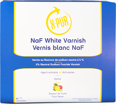X-PUR NaF varnish box