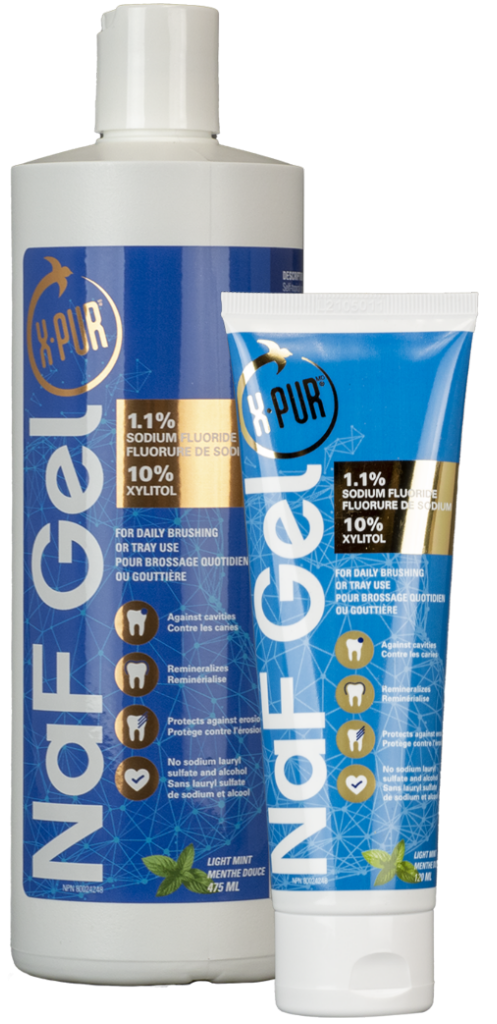x-pur NaF gel bottle